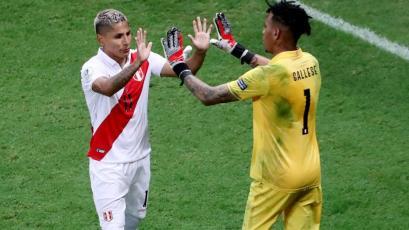 Raúl Ruidíaz prefiere no repetir su gol con la mano a Brasil: