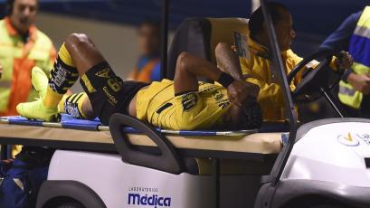 Ray Sandoval sufrió ruptura de los ligamentos cruzados