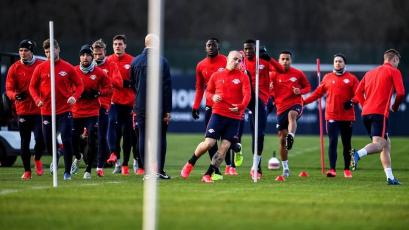 RB Leipzig volvió a los entrenamientos pese a la suspensión de la Bundesliga por el coronavirus