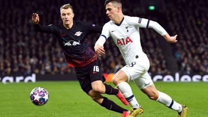 Champions League: Leipzig goleó al Tottenham en Alemania y firmó histórico pase