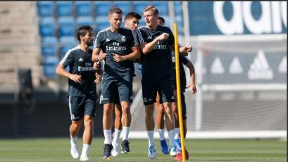 Toni Kroos, Nacho, Asensio y Lucas se incorporan a la pretemporada del Real Madrid