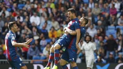 Levante dio el batacazo y venció al Real Madrid en el Bernabéu