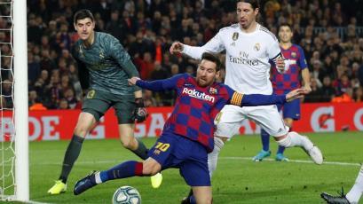 Barcelona empató 0-0 con Real Madrid en el Camp Nou por el superclásico del fútbol español