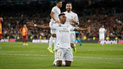 Champions League: Real Madrid y Rodrygo arrasaron con el Galatasaray en el Bernabeu