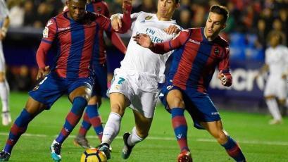La Liga: Real Madrid dejó pasarla victoria en casa del Levante