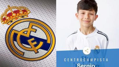 Real Madrid fichó a la joya infantil del fútbol peruano y debutó con un golazo (VIDEO)