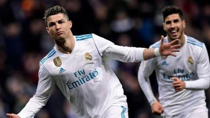 La Liga: Real Madrid golea con un 'póker' de goles de Cristiano Ronaldo