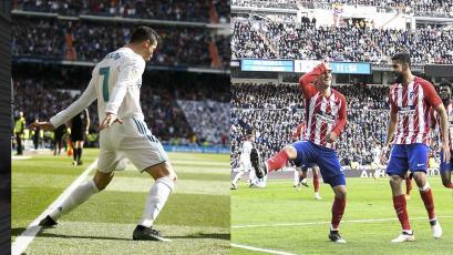 Cristiano Ronaldo y Griezmann igualaron el derbi madrileño