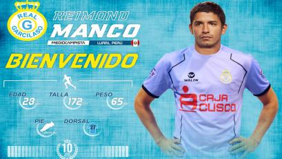 Reimond Manco es nuevo jugador de Real Garcilaso