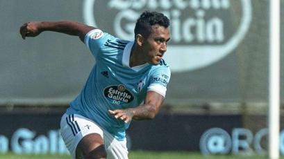 Renato Tapia tuvo su debut oficial con Celta de Vigo en el fútbol español