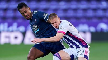 Celta de Vigo: Renato Tapia sumó 80 minutos más en LaLiga (VIDEO)
