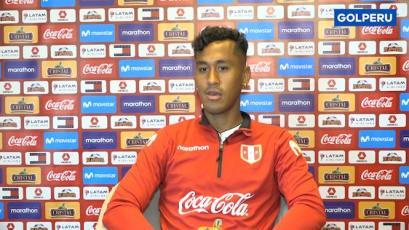 """Renato Tapia: """"Siempre tratamos de hacerlo lo mejor posible y buscaremos sacar los seis puntos"""