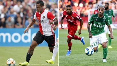 Renato Tapia y Miguel Trauco volvieron a jugar 90' en Feyenoord y Saint-Étienne, respectivamente
