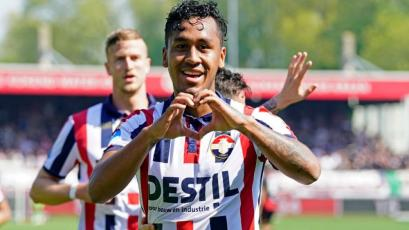 Renato Tapia marcó su primer golazo de larga distancia con Willem II (VIDEO)