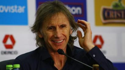 """Ricardo Gareca: """"La vuelta de Zambrano a la selección ha sido muy productiva"""""""