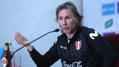 """Ricardo Gareca: """"Venezuela ha crecido muchísimo y es elogiable la opinión de su técnico"""""""