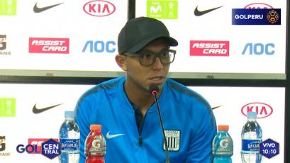 "Rinaldo Cruzado: ""Este triunfo es importante para llegar bien contra Palmeiras"""