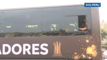 Copa Libertadores: bus de River Plate fue pura alegría tras reconocimiento del Monumental (VIDEO)