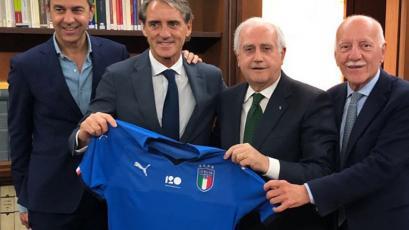 Roberto Mancini es el nuevo DT de la Selección Italiana