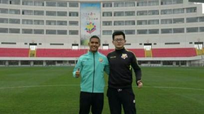 Roberto Siucho jugará en la Segunda División de China