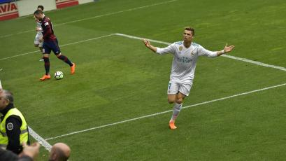 ¡Sigue imparable! Cristiano Ronaldo, con un doblete, le dio el triunfo al Real Madrid