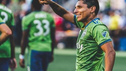 Dos goles de Raúl Ruidíaz con el Seattle Sounders en una de las finales de la MLS