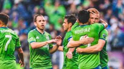 Raúl Ruidíaz disputó 15' en empate del Seattle Sounders