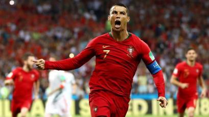 Rusia 2018: Cristiano Ronaldo rescata a Portugal con un 'hat trick' frente a España