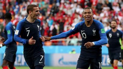 Rusia 2018: Mbappé fue la figura del partido entre Francia y Perú