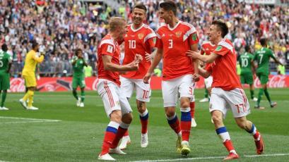 Rusia 2018: Rusia abre el Mundial goleando a Arabia Saudita