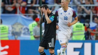 Rusia 2018: Argentina tropieza en su primera presentación ante Islandia (1-1)