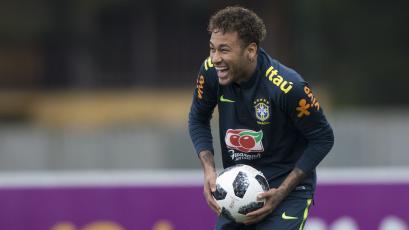 Rusia 2018: Neymar entrenó por primera vez con Brasil y Tité