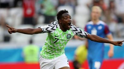 Rusia 2018: Musa fue la figura en la victoria de Nigeria sobre Islandia