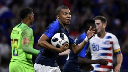 Rusia 2018: Francia empató con Estados Unidos (1-1)
