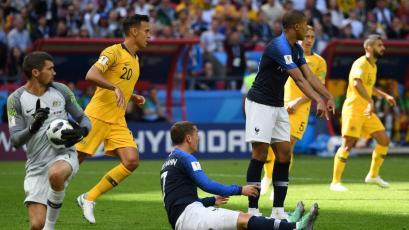 Rusia 2018: Lo que dejó la victoria de Francia frente a Australia