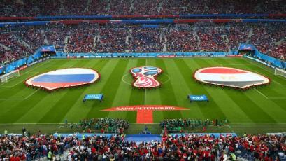 Rusia derrtó por 3-1 a Egipto
