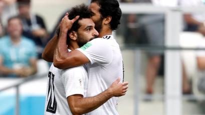 Rusia 2018: Mohamed Salah, pese a la derrota de Egipto, fue elegido figura del partido