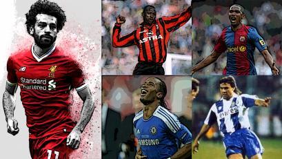 #LaListaGOL: Mohamed Salah y otros 9 jugadores africanos que la 'rompieron' en Europa