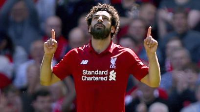 Mohamed Salah ya se recupera en España
