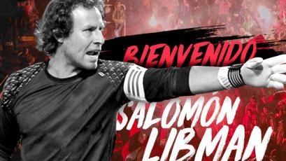 Salomón Libman es el nuevo portero de Melgar