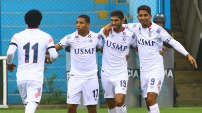 San Martín venció 2-1 a Real Garcilaso con remontada y se aleja de la zona de descenso