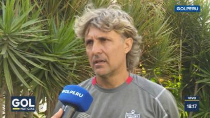 San Martín: Héctor Bidoglio contó como trabaja con los juveniles y reveló a su nuevo delantero
