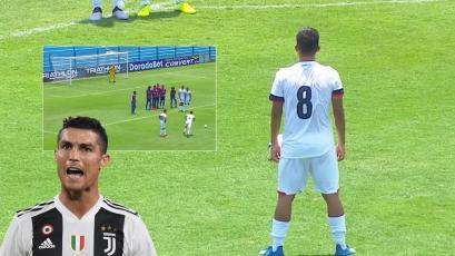 Liga1 Movistar: jugador de San Martín quiso imitar a Cristiano Ronaldo, pero... (VIDEO)