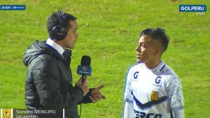 El gran gesto de Sandro Rengifo de Cantolao tras lesión de Víctor Cedrón de César Vallejo (VIDEO)