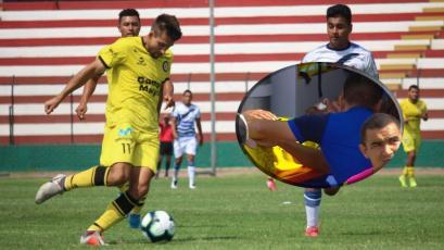 Santiago Ciganda: jugador de Coopsol se desmayó en pleno partido por el ascenso (VIDEO)