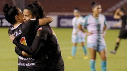 Copa Libertadores femenina: Municipalidad de Majes fue goleado 5-0 por Santiago Morning (VIDEO)
