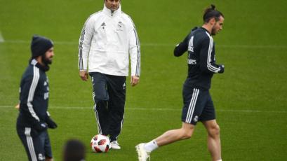 Real Madrid: Santiago Solari dirigió su primera práctica en la casa blanca