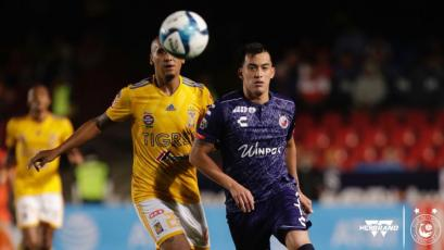 Iván Santillán debutó con Veracruz en el fútbol mexicano