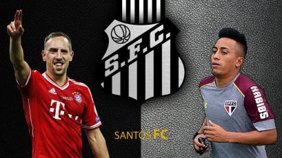 Santos planea dejar ir a Christian Cueva para fichar a Franck Ribéry, según periodista brasileño