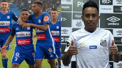 Liga2: Santos de Nasca intercambiará camiseta con el Santos de Christian Cueva (VIDEO)